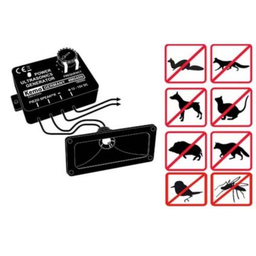 Kemo generator voor ultrasone geluiden module