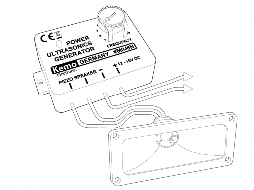 Kemo generator voor ultrasone geluiden!